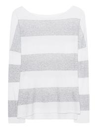 JUVIA Cotton Stripes Light Grey