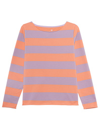JUVIA Sweatshirt Stripes Mandarine