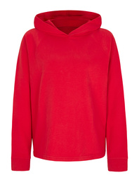 JUVIA Casual Fit Hood Fire Red
