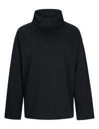 JUVIA Turtleneck Wide Black