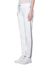 JUVIA Sweat Side Stripes White