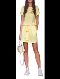 JUVIA Short Dress Yellow