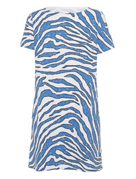 JUVIA Sweat Zebra White Blue