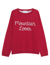 JUVIA JUVIA D-PULLOVER STRICK MOUNTAIN LOVER