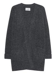 JUVIA Long Knit Meteorit Melange Grey