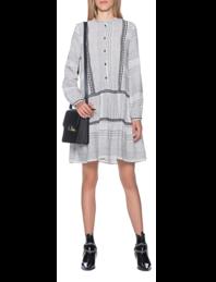 FROGBOX Stitch Dress Clear White