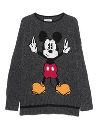 FROGBOX Intarsia Mickey Mouse Grey