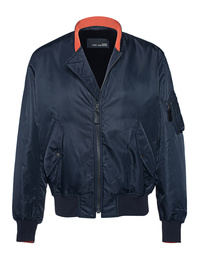 YVES SALOMON Bomber Nylon Navy