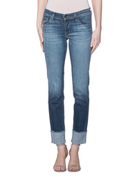 J BRAND Hipster Low Rise Straight Blue