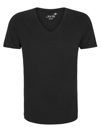 JUVIA Deep Vneck Black