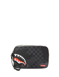 SPRAYGROUND 3 AM Toiletry Shark Black