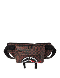 SPRAYGROUND Split Check Brown