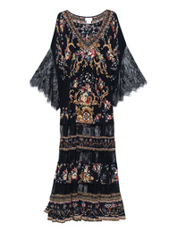 CAMILLA Floral Lace Black