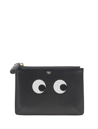 ANYA HINDMARCH Small Eyes Black