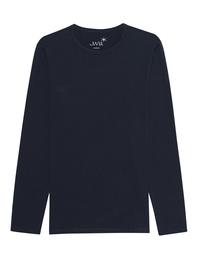 JUVIA Cotton Long Navy Blue