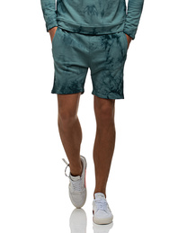 JUVIA Tie Dye Short Aqua Light Blue