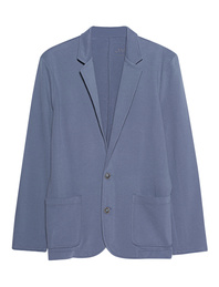 JUVIA Cotton Slim Fit Blue
