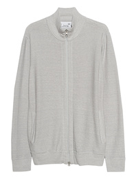 JUVIA Zip Hooded Light Grey