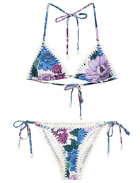ZIMMERMANN Crochet Edge Lilac