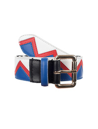 N.D.V. PROJECT Vitello Belt Multicolor