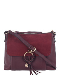 See by Chloe Acc Joan Large Bordeaux