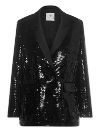 ANINE BING Sequin Black