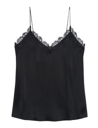 ANINE BING Camisole Top Black