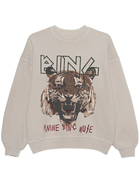 ANINE BING Tiger Washed Out Grey