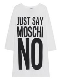 MOSCHINO Just Say Moschino Off White