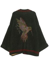 CAMOUFLAGE COUTURE STORK Comfy Kolibri Green