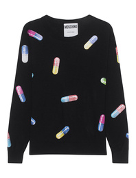 MOSCHINO All Over Pills Black
