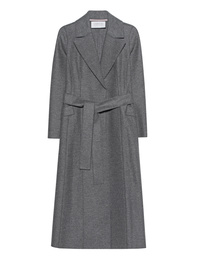 HARRIS WHARF LONDON Long Duster Grey