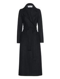 HARRIS WHARF LONDON Long Duster Coat Black
