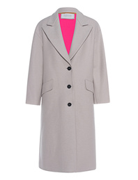 HARRIS WHARF LONDON Oversize Coat Off-White