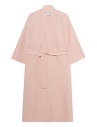 HARRIS WHARF LONDON Kimono Light Pressed Wool Pastel Pink