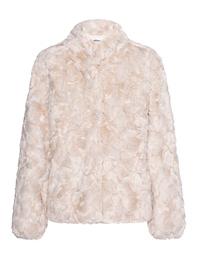 Betta Corradi Curley Fake Fur Light Beige