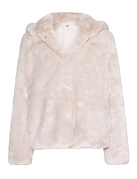 Betta Corradi Short Fake Fur Light Beige