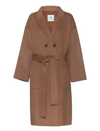 ANINE BING Dylon Wool Cashmere Camel