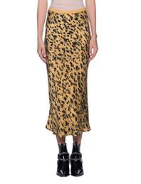 ANINE BING Silk Skirt Leo