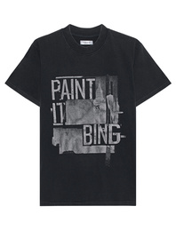ANINE BING Georgie Grey Black