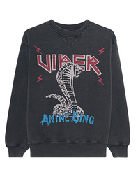 ANINE BING Cobra Sweater Viber Anthracite