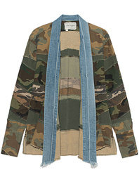 GREG LAUREN Kimono Camp Mixed Camouflage