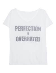GREY MARL  Oversize Perfection White