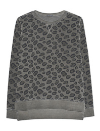 GREY MARL  Sweater Leo Green