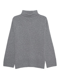 GREY MARL  Turtle Knit Grey
