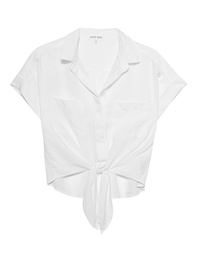 BELLA DAHL Short Blouse White