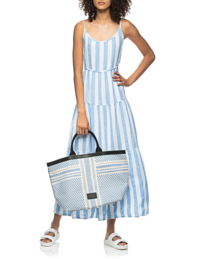BELLA DAHL Stripe Sky Blue