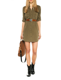 BELLA DAHL Army Fringes Olive