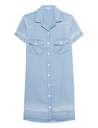 bella dahl Shirt Dress Light Blue