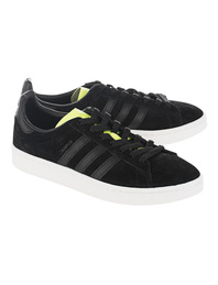 ADIDAS ORIGINALS Campus Black Solar Yellow